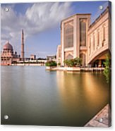 The Bridge And The Mosque Acrylic Print