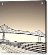 The Bridge At Astoria Acrylic Print