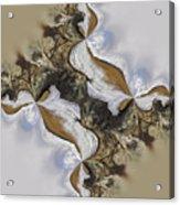 The Bridge Between The Deserts Acrylic Print