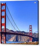 The Bridge Acrylic Print by Bill Gallagher