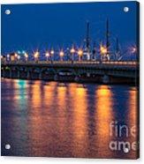 The Bridge Of Lions St. Augustine Florida Acrylic Print