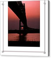 The Bridge Poster Acrylic Print