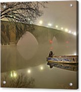 The Bridge To Nowhere Acrylic Print