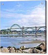 The Bridge To Old Town Acrylic Print