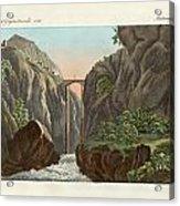 The Bridge To Ronda Acrylic Print