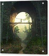 The Bridge Under The Bridge Acrylic Print
