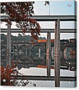 The Bridges At East Falls Acrylic Print