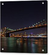 The Bridges Of New York Acrylic Print