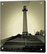 The Brightly Lit Lighthouse Acrylic Print