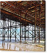 The Brighton Pier  Acrylic Print