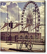 The Brighton Wheel Acrylic Print