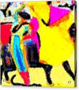 The Brilliance In Bullfighting Acrylic Print