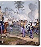 The British Royal Horse Artillery - Acrylic Print by English School