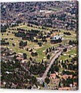 The Broadmoor Panoramic Acrylic Print