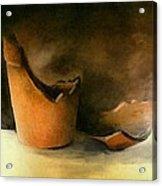 The Broken Terracotta Pot Acrylic Print