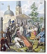 The Burial, 1812-13 Acrylic Print