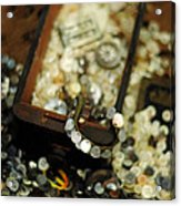 The Button Drawer Acrylic Print