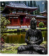The Byodo-in Temple 1 Acrylic Print