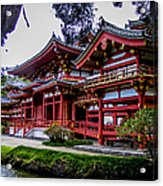 The Byodo-in Temple 2 Acrylic Print