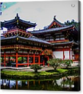 The Byodo-in Temple Acrylic Print