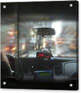 The Cab Ride Acrylic Print