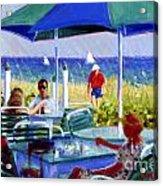The Cabana Club Acrylic Print