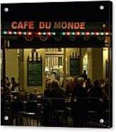 The Cafe Acrylic Print
