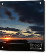 The Calf From A Hilltop In Twilight I Acrylic Print
