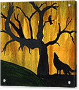 The Call And Response Of The Wild Acrylic Print