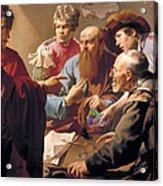 The Calling Of St Matthew  Acrylic Print