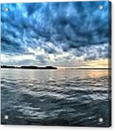 The Calm After The Storm Acrylic Print