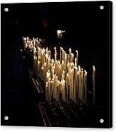 The Candles. Duomo. Milan Acrylic Print