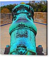 The Cannon Sun Acrylic Print
