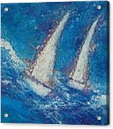 The Canvas Can Do Miracles Acrylic Print