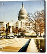 The Capitol Building Acrylic Print