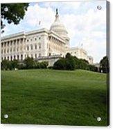 The Capitol Hill View Washington Dc Acrylic Print