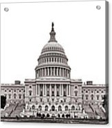 The Capitol Acrylic Print by Olivier Le Queinec