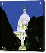 The Capitol  Acrylic Print
