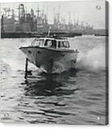 The �captain�s Barge� - 1963 Version Acrylic Print