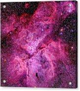 The Carina Nebula In The Southern Sky Acrylic Print