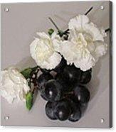 The Carnation Bunch Acrylic Print
