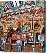 The Carousel Ride Acrylic Print