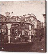 The Carousel  Acrylic Print
