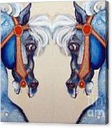 The Carousel Twins Acrylic Print