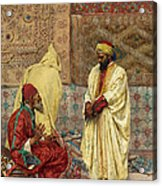 The Carpet Bazaar Acrylic Print
