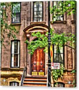 The Carrie Bradshaw Stoop From Sex And The City Acrylic Print