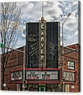 The Carver Theatre In Birmingham Alabama Acrylic Print