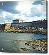 The Castle Fort On The Harbor Acrylic Print