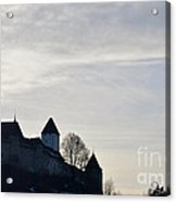 The Castle In Shadow Acrylic Print