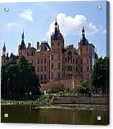 The Castle Of Schwerin Acrylic Print
